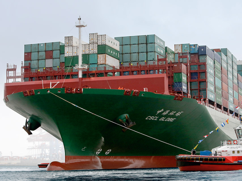 Could the global shipping fleet one day be powered by batteries?