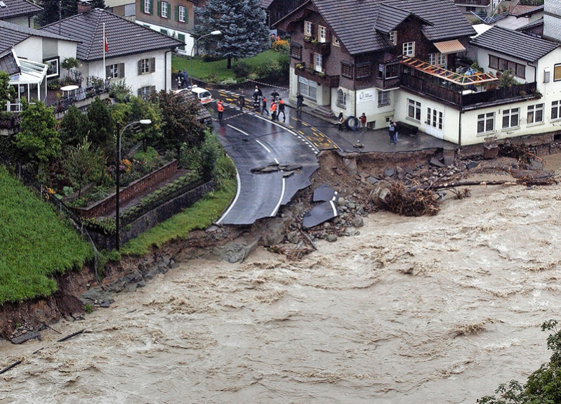 Hochwasser 2005 LU